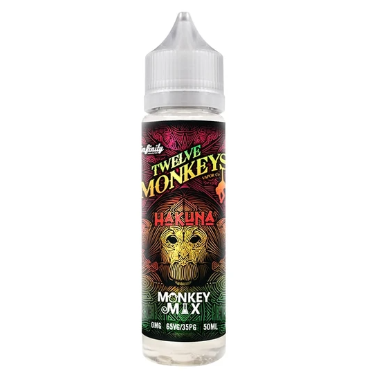 Twelve Monkeys Kanzi Iced Shortfill 50ml
