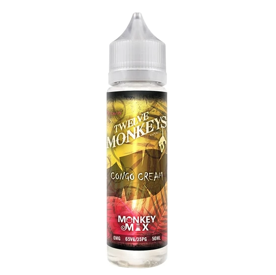 Twelve Monkeys Congo Cream Shortfill 50ml
