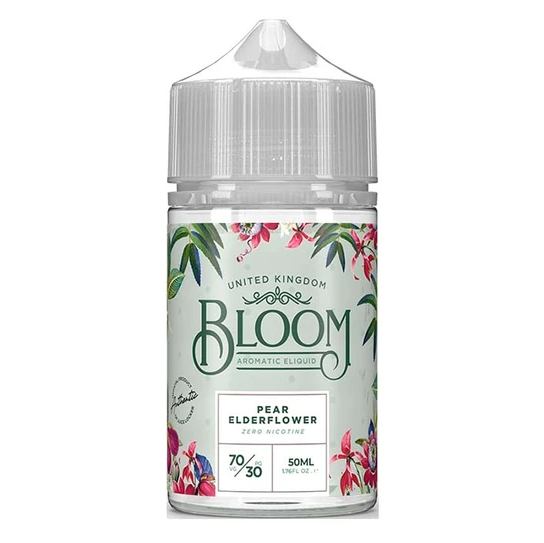 Bloom Pear Elderflower Shortfill 50ml