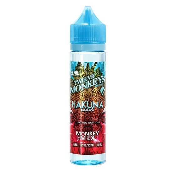 Twelve Monkeys Hakuna Iced Shortfill 50ml