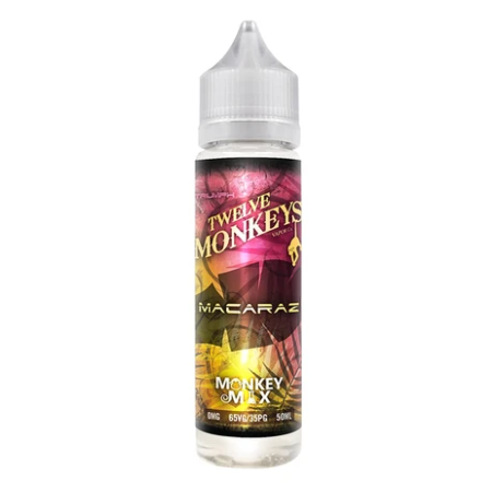 Twelve Monkeys MacaRaz Shortfill 50ml