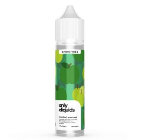 Only Eliquids Grape Apple Smoothie Shortfill 50ml