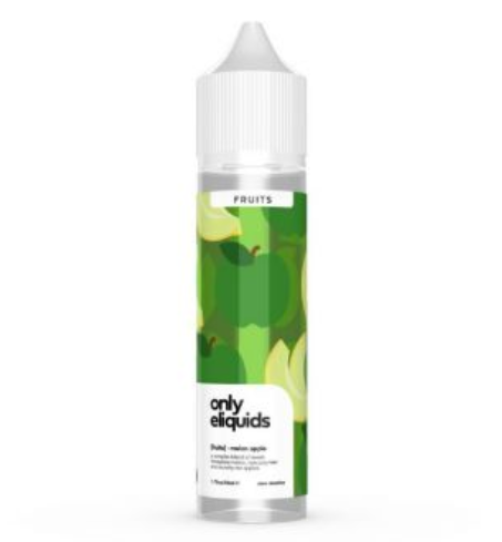 Only Eliquids Melon Apple Shortfill 50ml
