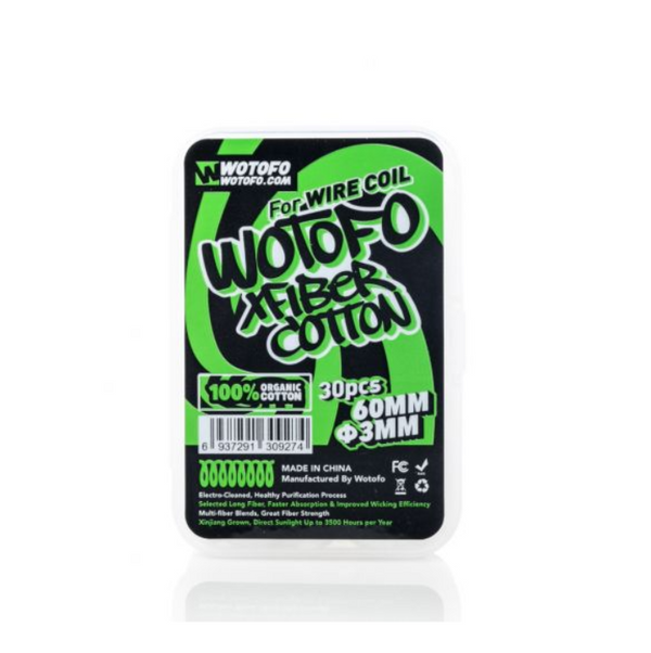 Wotofo Xfiber Vape Cotton 3mm