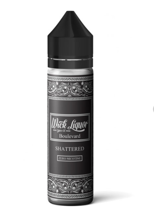 Wick Liquor Boulevard Shattered Shortfill 50ml