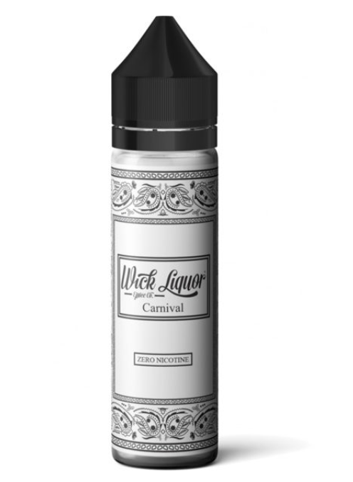 Wick Liquor Carnival Shortfill 50ml