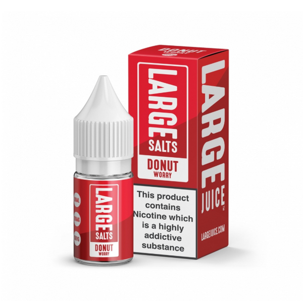 Large Juice Donut Worry Nic Salt 10ml
