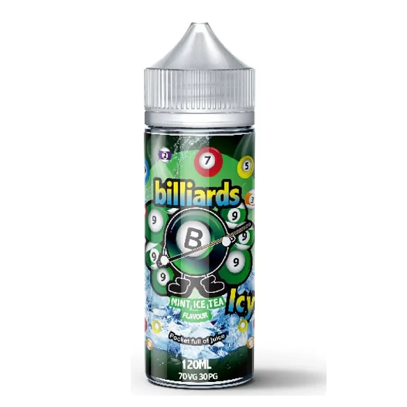 Billiards 70VG/30PG Shortfill 100ml