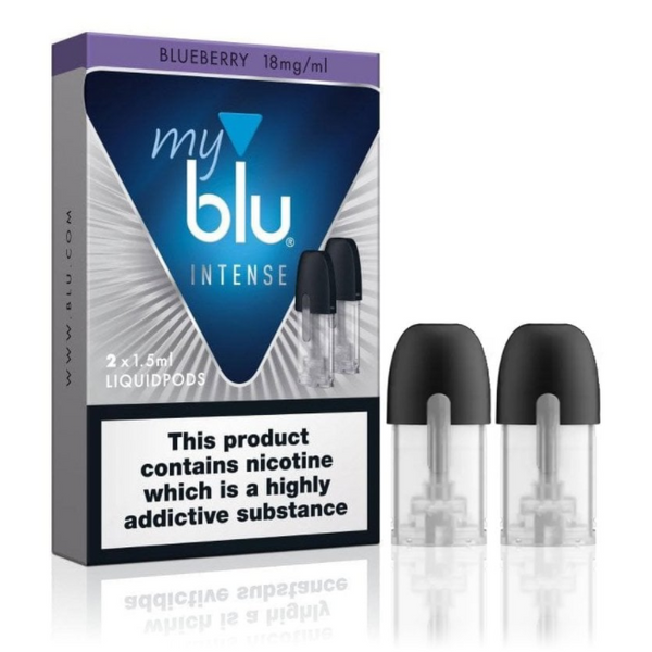 MyBlu Intense Blueberry Nic Salt Pre-filled Pod