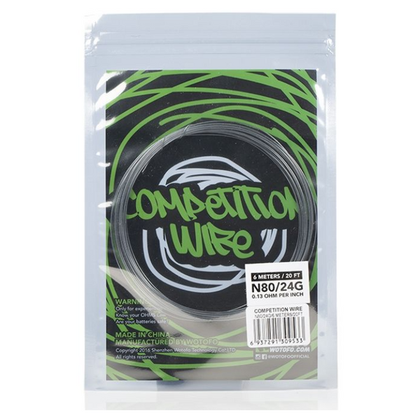 Wotofo Ni80 Competition Wire 24G/26G 20ft Pack