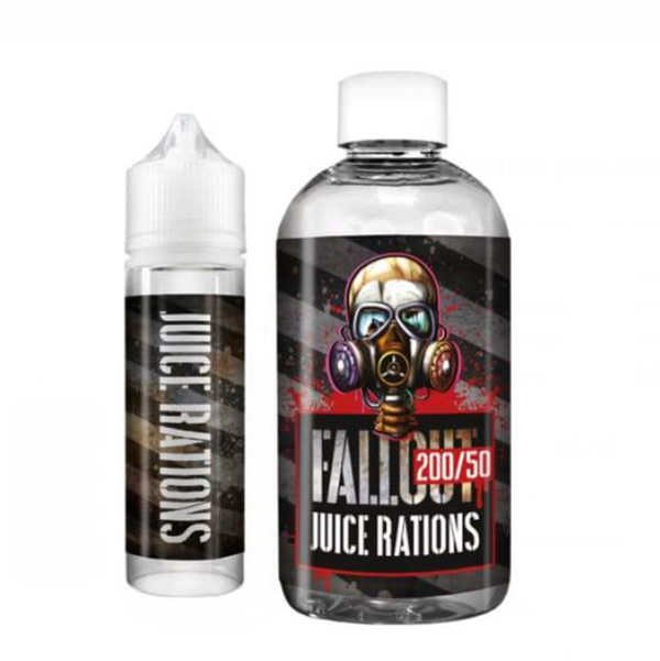 Fallout Juice Rations Strawberry Laces Shortfill 200ml