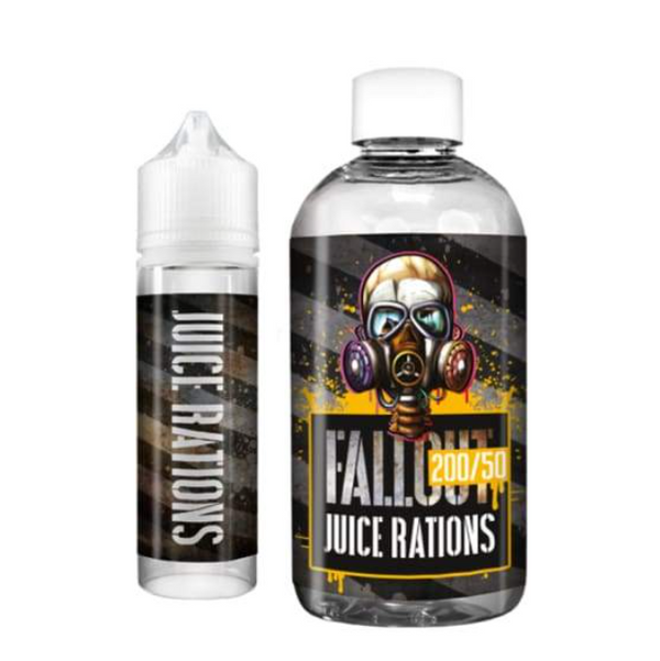 Fallout Juice Rations Vanilla Custard Shortfill 200ml