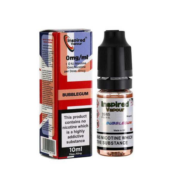 Inspired Bubblegum E-liquid 10ml - NewVaping