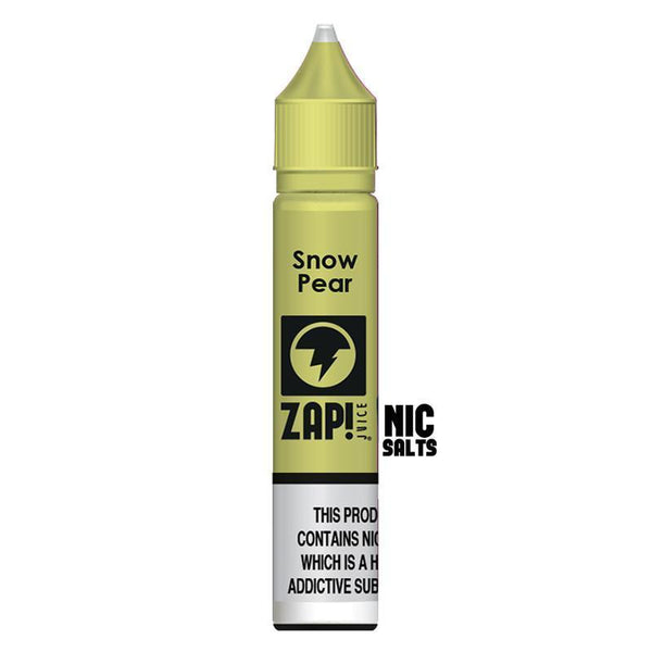 Zap! Juice Snow Pear Nic Salt E-liquid 10ml - NewVaping