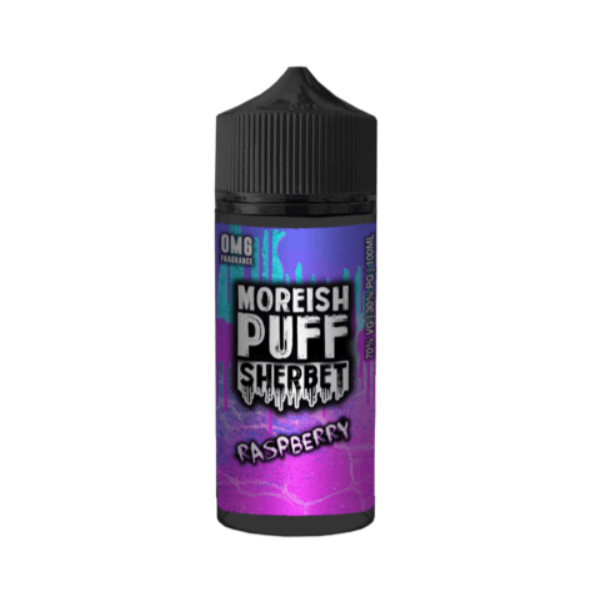 Moreish Puff Sherbet Raspberry Shortfill 100ml