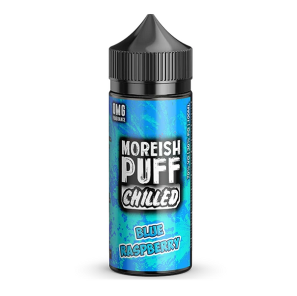 Moreish Puff Chilled Blue Raspberry Shortfill 100ml