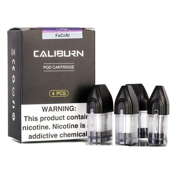 UWELL Caliburn Replacement Pods 4PCS - NewVaping