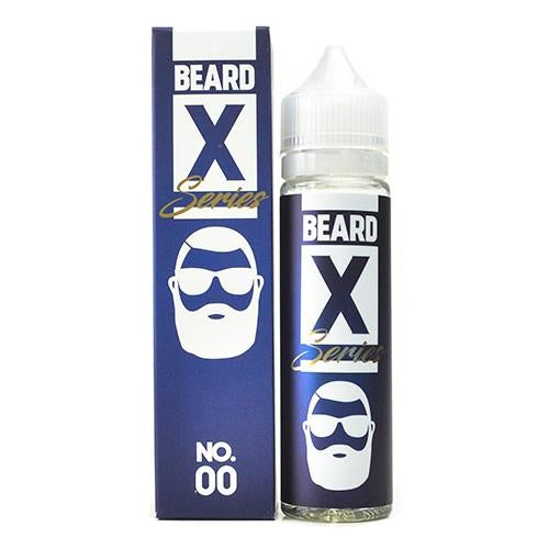Beard X Series NO.00 Shortfill E-liquid 50ml - NewVaping