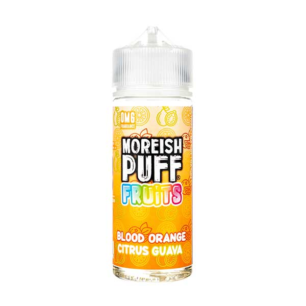 Moreish Puff Blood Orange Citrus Guava Shortfill E-liquid 50ml