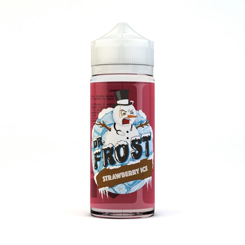 Dr. Frost Strawberry Ice E-liquid 100ml - NewVaping