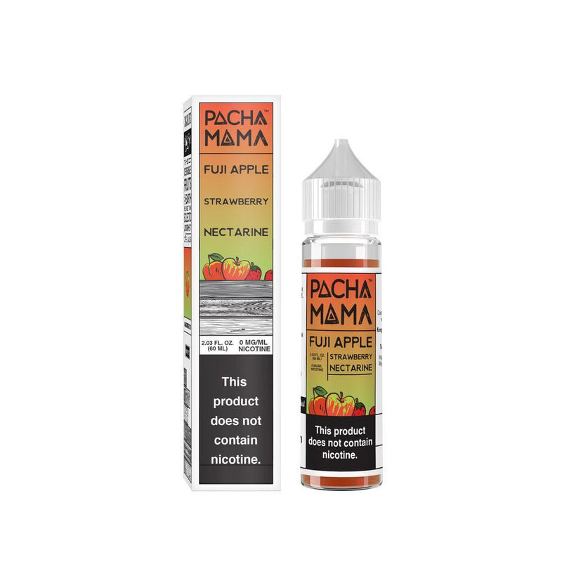 Pacha Mama Fuji Apple Strwaberry Nectarine Shortfill E-Liquid 50ml - NewVaping