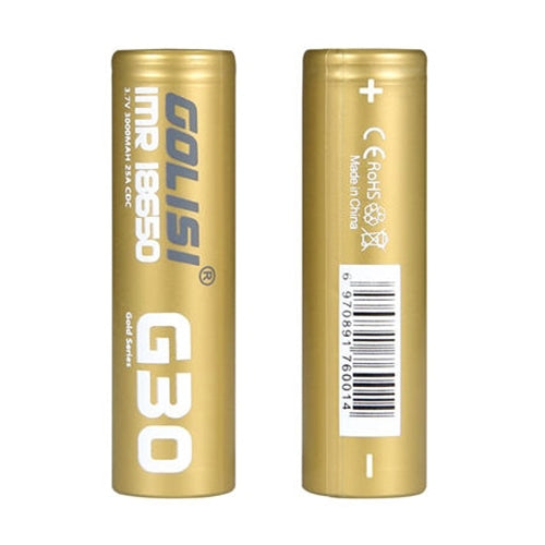 Golisi G30 18650s Li-ion Battery 2PCS - NewVaping