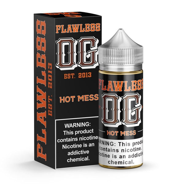 Flawless OG Hot Mess Shortfill E-liquid 100ml - NewVaping