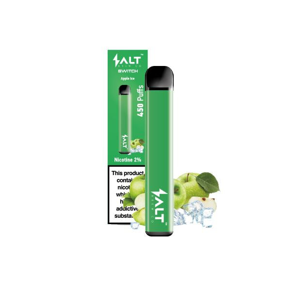 SALT Switch Apple Ice Salt Brew Co Disposable Vape