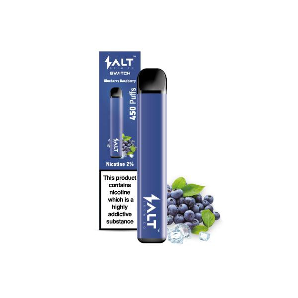 SALT Switch Blueberry Raspberry Salt Brew Co Disposable Vape