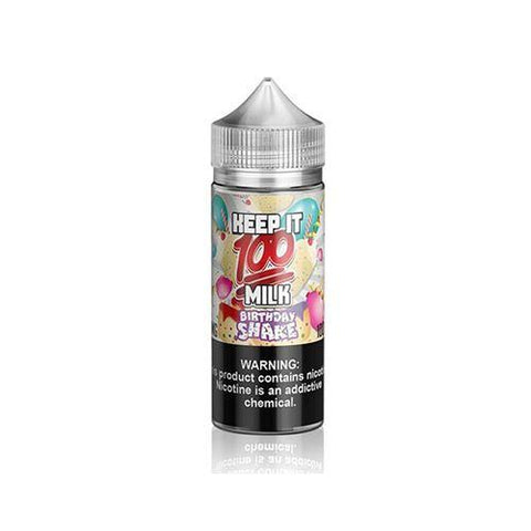 Keep It 100 Milk Birthday Shake Shortfill E-liquid 100ml - NewVaping