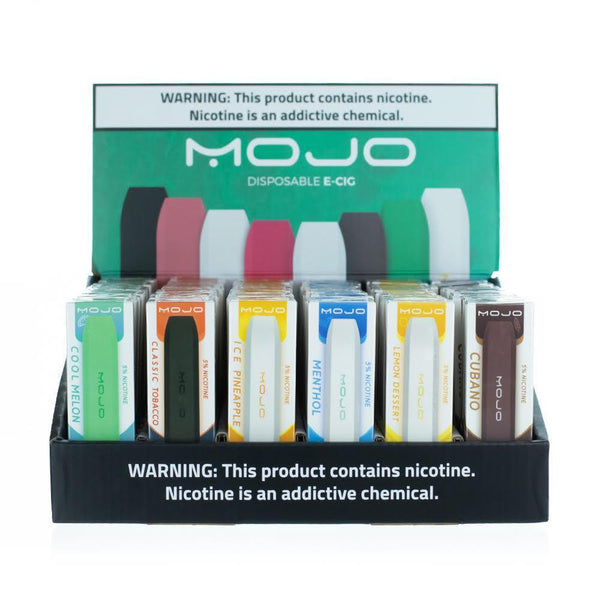 MOJO Disposable Vape Device Combo Case (60 Count) - NewVaping