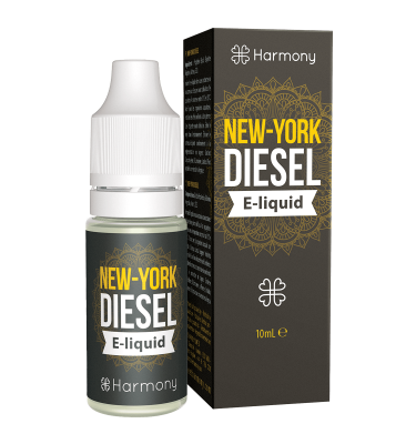 Harmony New York Diesel CBD E-liquid 10ml