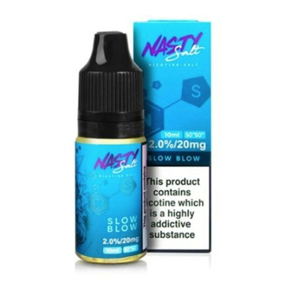 Nasty Juice Slow Blow Nic Salt E-liquid 10ml