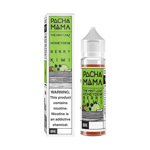 Pacha Mama Mint Leaf, Honeydew and Berry Kiwi Shortfill 50ml