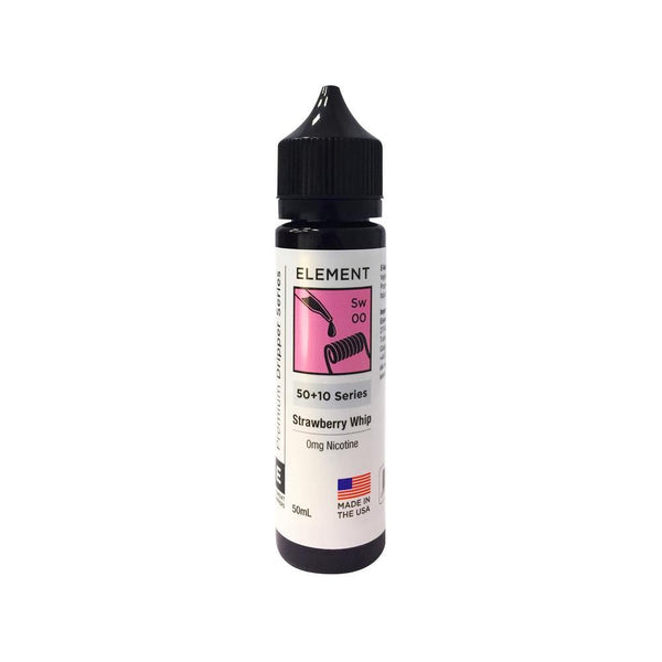 Element Strawberry Whip Shortfill E-liquid 100ml - NewVaping