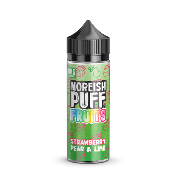 Moreish Puff Strawberry Pear & Lime Shortfill E-liquid 50ml