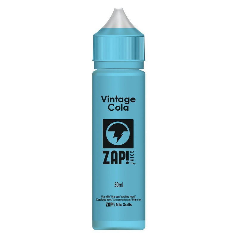 Zap! Juice Vintage Cola Shortfill E-liquid 50ml (Free Nic Salt Included) - NewVaping