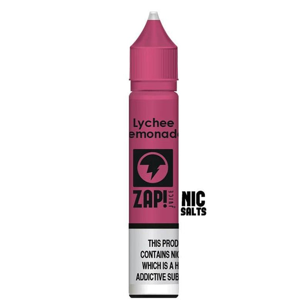 Zap! Juice Lychee Lemonade Nic Salt E-liquid 10ml - NewVaping