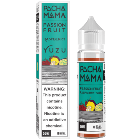 Pacha Mama Passion Fruit, Raspberry & Yuzu Shortfill 50ml
