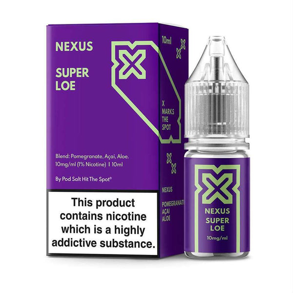 Pod Salt Nexus Super Loe Nic Salt 10ml