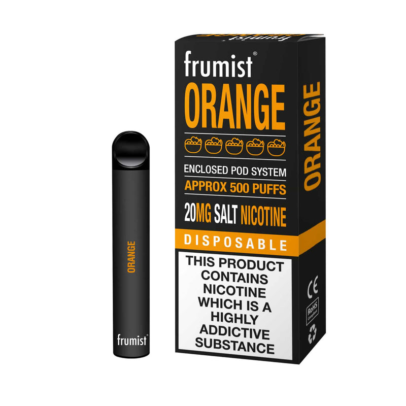Frumist Orange Disposable Vape