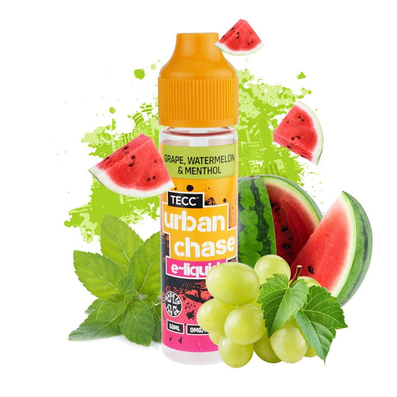 Urban Chase Grape, Watermelon & Menthol Shortfill 50ml