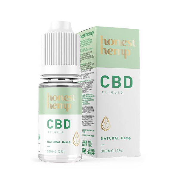Honest Hemp Natural Hemp CBD E-liquid 10ml