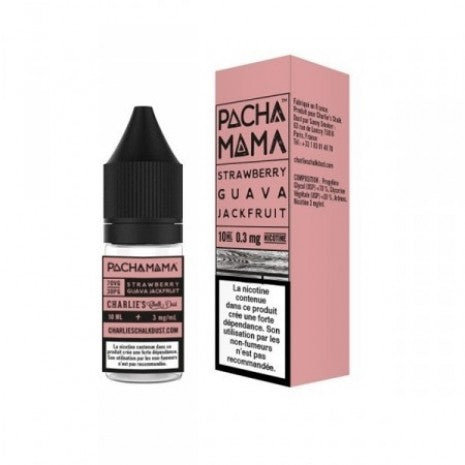 Pacha Mama Strawberry, Guava and Jackfruit E-liquid 10ml