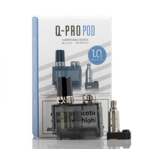 Lost Vape Orion Q-PRO Replacement Pod & Coils