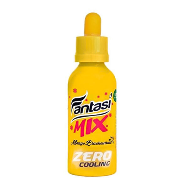 Fantasi Zero Cooling Mango Blackcurrant Shortfill 50ml