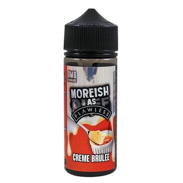 Flawless Creme Brulee Moreish Shortfill E-liquid 100ml - NewVaping