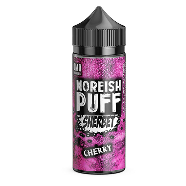 Moreish Puff Sherbet Cherry Shortfill 100ml