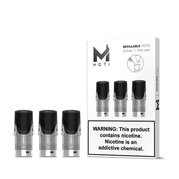 MOTI Replacement Pods 3PCS