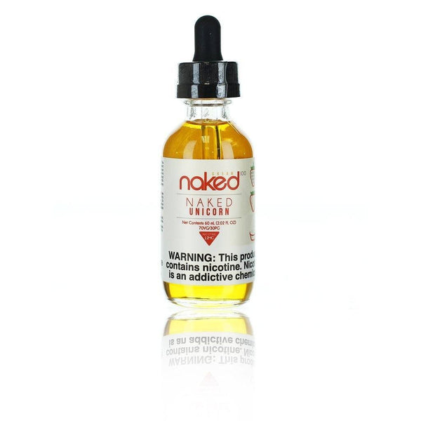 Naked 100 Cream Naked Unicorn Shortfill E-liquid 50ml - NewVaping